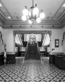 A photo inside the Quebec Parliament Building (Hotel du Parlement du Quebec).  A Second Empire masterpiece located in Quebec City and designed by Eugene-Etienne Tache, the Quebec Parliament Building was constructed between 1877 and 1886.  This photo © Capitolshots Photography/TwoFiftyFour Photos, LLC, ALL RIGHTS RESERVED.