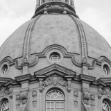 An image of the dome of the Alberta Legislature Building.  The building was completed in Edmonton in 1913.  The Beaux-Arts Alberta Legislature Building was designed by Allan Merrick Jeffers and Richard Blakey.  This image © Capitolshots Photography/TwoFiftyFour Photos, LLC, ALL RIGHTS RESERVED.