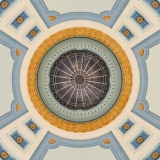 An image inside the Manitoba Legislative Building rotunda.  Completed in Winnipeg in 1920, the stone Classical Revival structure was designed by Frank Worthington Simon and Henry Boddington III.  This image © Capitolshots Photography/TwoFiftyFour Photos, LLC, ALL RIGHTS RESERVED.