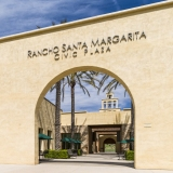 A photo of Rancho Santa Margarita Civic Plaza in Rancho Santa Margarita, California. Designed by LPA, Inc., the Mission Revival structure, which houses Rancho Santa Margarita City Hall and other civic offices for the city, was dedicated in 2004.  This photo © Capitolshots Photography/TwoFiftyFour Photos, LLC, ALL RIGHTS RESERVED.