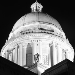 Kentucky State Capitol At Night