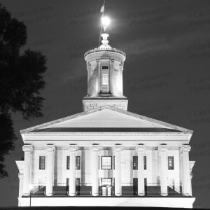 Tennessee State Capitol At Night