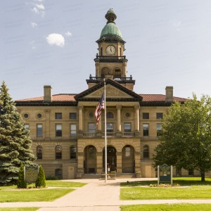 Van Buren County Courthouse (Paw Paw, Michigan)