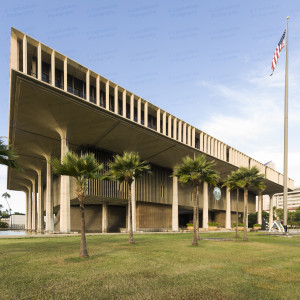 Hawaii State Capitol (Honolulu, Hawaii)
