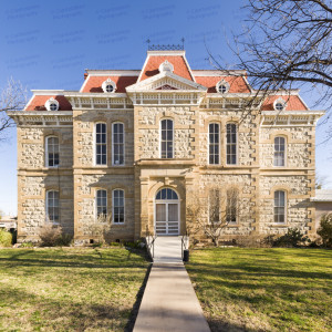 Concho County Courthouse (Paint Rock, Texas)