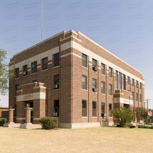 Garza County Courthouse (Post, Texas)