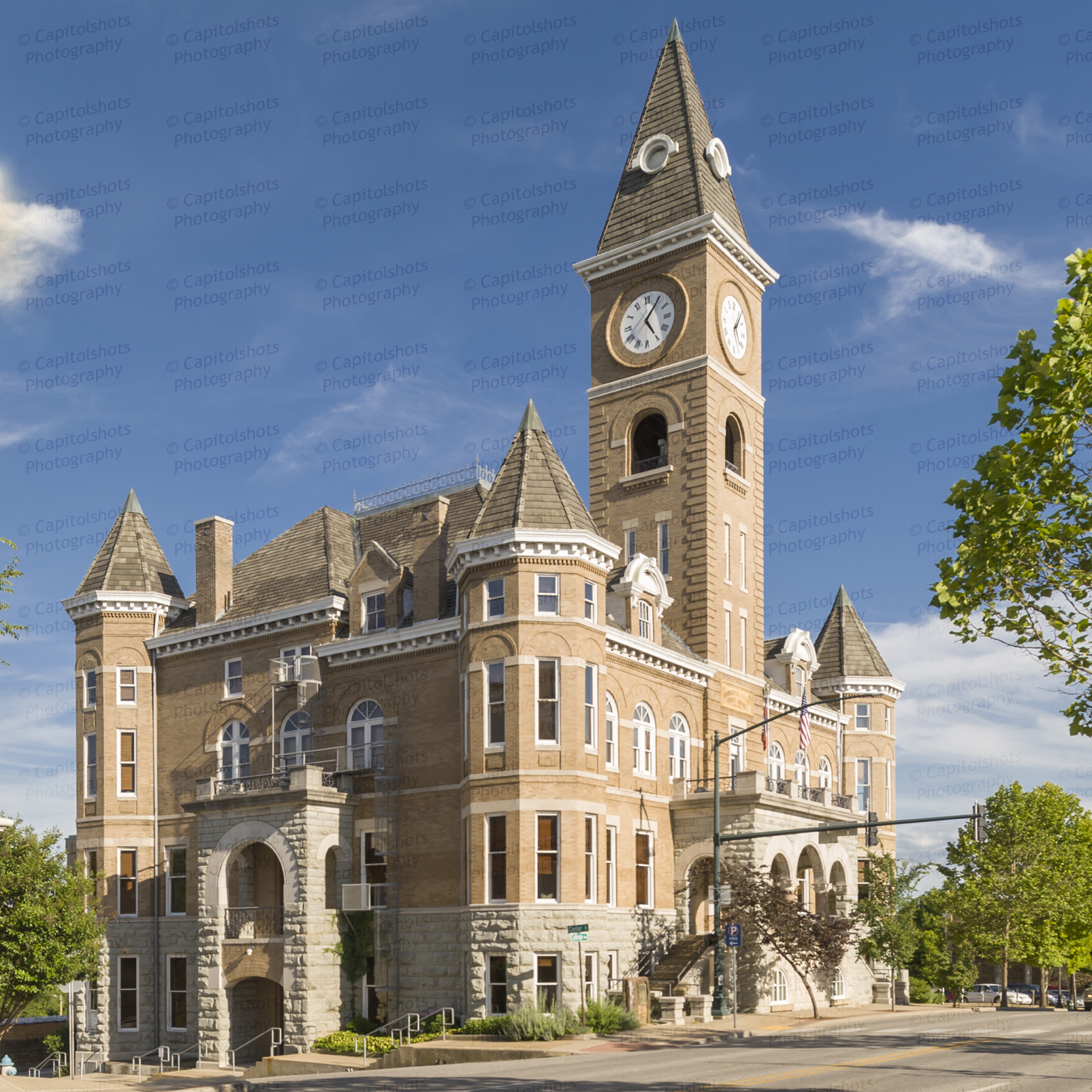 Fayetteville Arkansas: Historic Washington County Courthouse