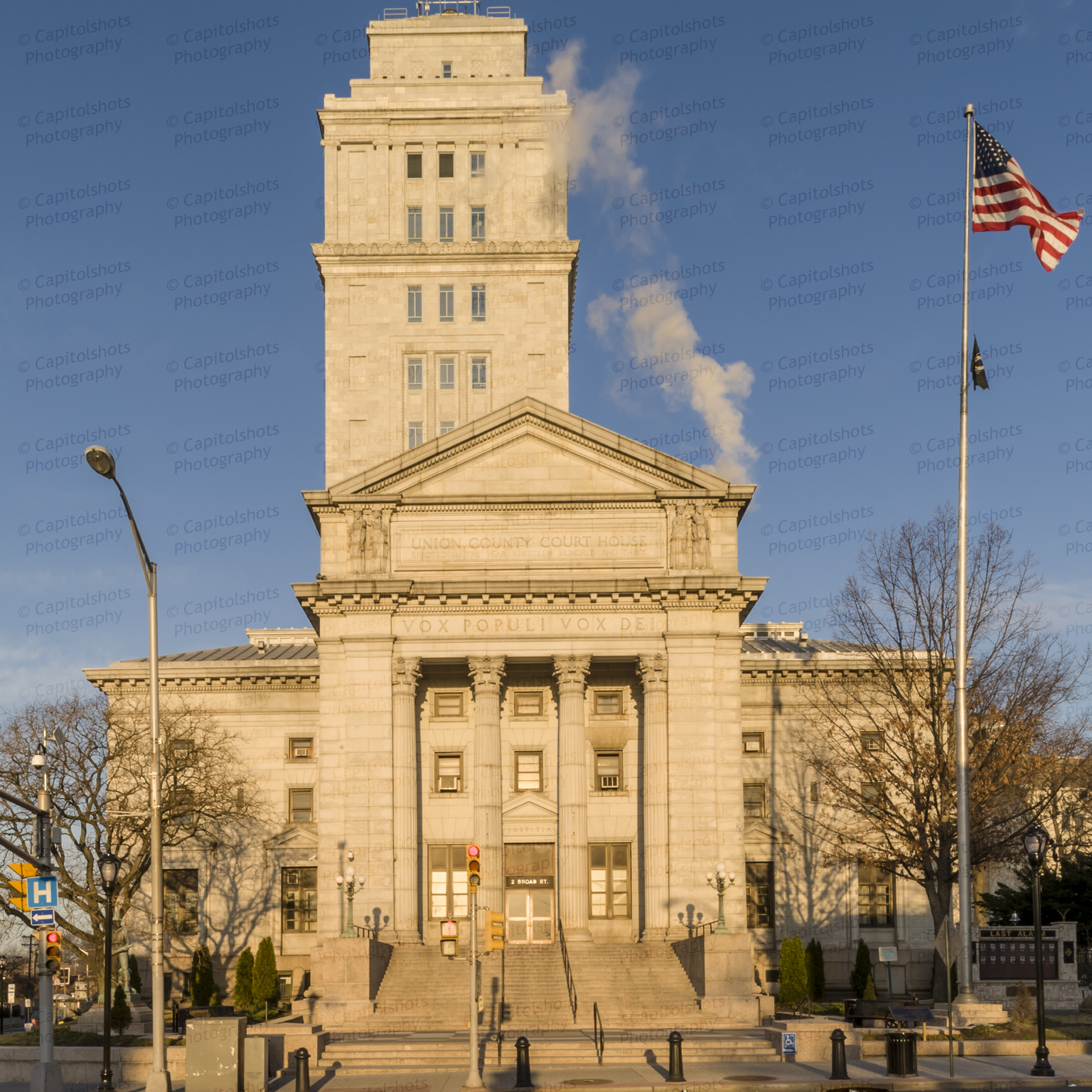 Peaceful Places In Nj: Union County Courthouse