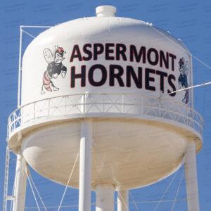 Aspermont Water Tower (Aspermont, Texas)